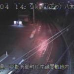 国道104号八木田ライブカメラ(青森県南部町片岸)