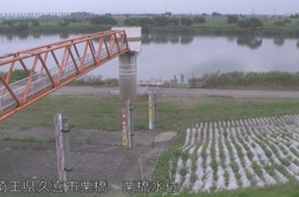 利根川栗橋水位観測所ライブカメラは、埼玉県久喜市栗橋の栗橋水位観測所に設置された利根川が見えるライブカメラです。