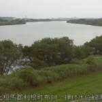 利根川押付水位観測所ライブカメラ(茨城県利根町布川)