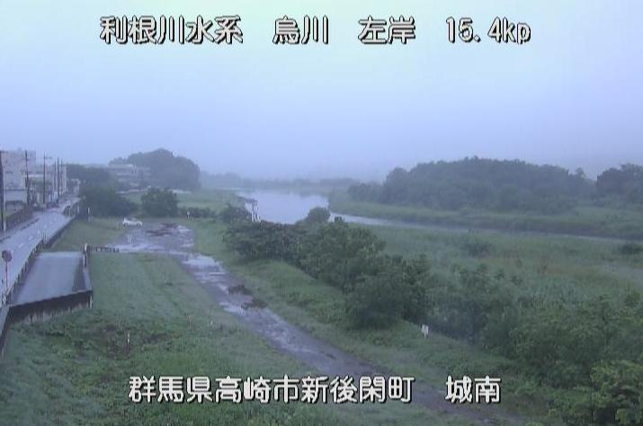 烏川城南大橋ライブカメラは、群馬県高崎市新後閑町の城南大橋に設置された烏川が見えるライブカメラです。