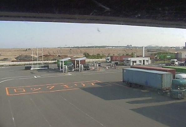 博多港ふ頭からICCTゲート前が見えるライブカメラ。