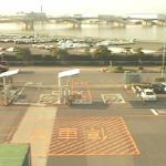 博多港ふ頭香椎パークポートコンテナターミナルゲート前ライブカメラ(福岡県福岡市東区)