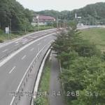 国道4号伏拝ライブカメラ(福島県福島市伏拝)