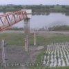 利根川栗橋水位観測所ライブカメラ(埼玉県久喜市栗橋)