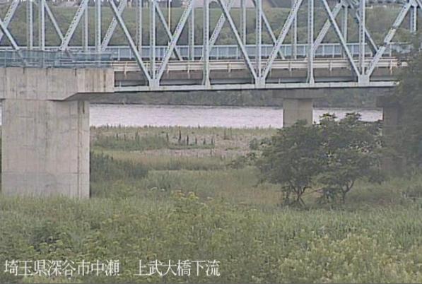 利根川上武大橋下流ライブカメラは、埼玉県深谷市中瀬の上武大橋下流に設置された利根川が見えるライブカメラです。