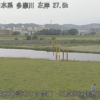 多摩川石原水位観測所ライブカメラ(東京都調布市多摩川)