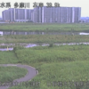 多摩川日野橋水位観測所ライブカメラ(東京都立川市錦町)
