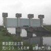 荒川岩淵水門ライブカメラ(東京都北区志茂)
