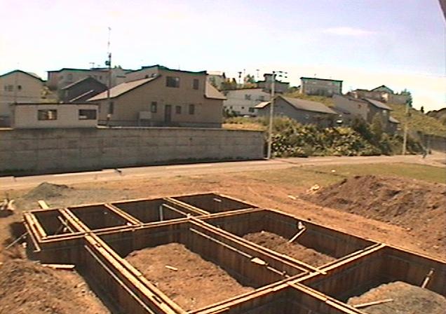 エボホーム現場中継第2ライブカメラは、北海道北見市豊地の施工中現場に設置された現場中継が見えるライブカメラです。