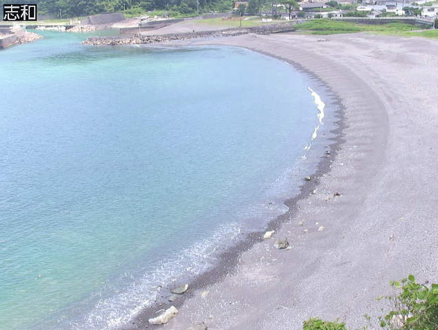志和海岸ライブカメラは、高知県四万十町の志和に設置された志和海岸・土佐湾が見えるライブカメラです。