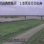 筑後川下田大橋ライブカメラ(福岡県久留米市城島町)