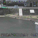 巨瀬川中央橋ライブカメラ(福岡県久留米市田主丸町田主丸)
