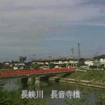 長峡川長音寺橋ライブカメラ(福岡県行橋市上津熊)