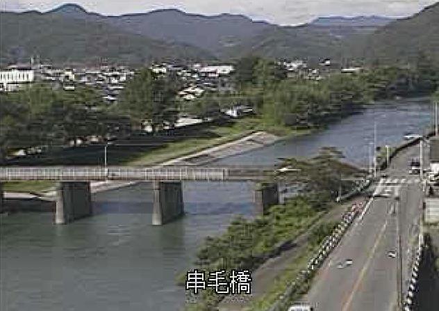 矢部川串毛橋ライブカメラは、福岡県八女市黒木町の串毛橋に設置された矢部川が見えるライブカメラです。