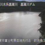嘉瀬川嘉瀬川ダム上流第3ライブカメラ(佐賀県佐賀市富士町)