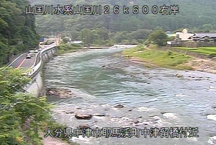 山国川柿坂ライブカメラは、大分県中津市耶馬渓町の柿坂に設置された山国川が見えるライブカメラです。