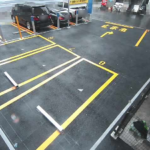 NTTルパルク日本橋久松町第1駐車場2ライブカメラ(東京都中央区日本橋久松町)