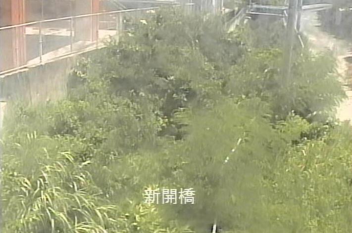 安謝川新開橋ライブカメラは、沖縄県那覇市首里石嶺町の新開橋に設置された安謝川が見えるライブカメラです。
