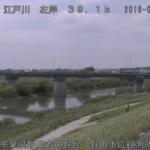 江戸川野田水位観測所ライブカメラ(千葉県野田市中野台)