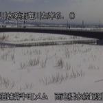 雨竜川雨竜橋観測所ライブカメラ(北海道妹背牛町メム)