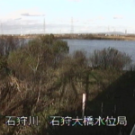 石狩川石狩大橋水位局ライブカメラ(北海道江別市緑町)