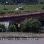 尻別川蘭越水位流量観測所ライブカメラ(北海道蘭越町蘭越町)
