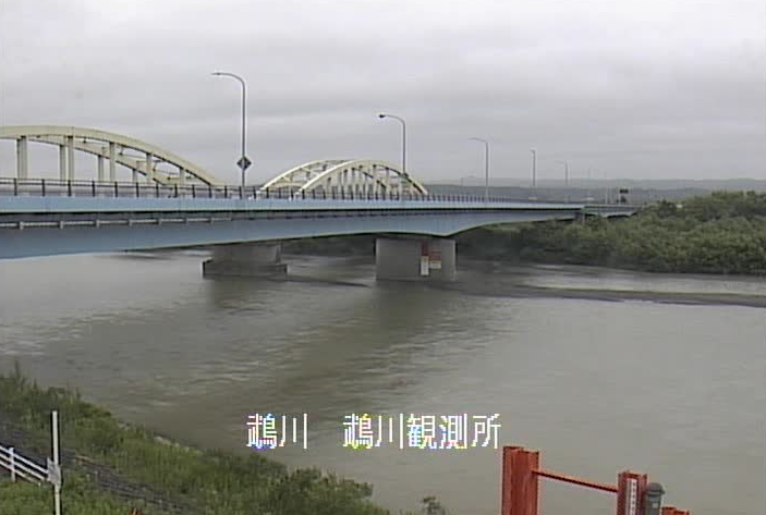 鵡川鵡川観測所ライブカメラは、北海道むかわ町洋光の鵡川観測所に設置された鵡川が見えるライブカメラです。