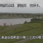 沙流川富川観測所ライブカメラ(北海道日高町富川南)