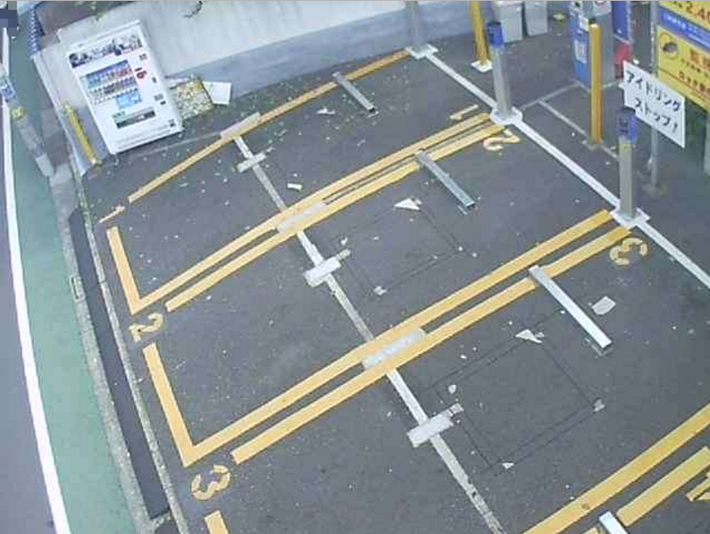 NTTルパルク自由が丘第3駐車場ライブカメラ(東京都目黒区自由が丘)