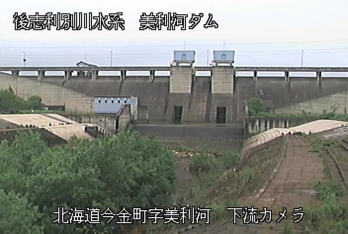 美利河ダムライブカメラは、北海道今金町美利河の美利河ダムに設置された堤体が見えるライブカメラです。