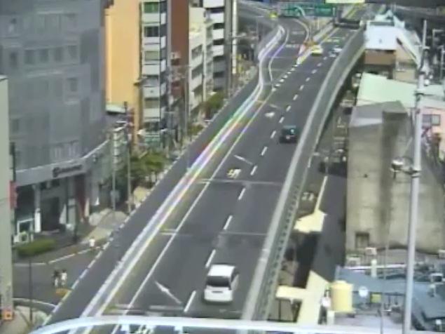 阪神高速1号環状線なんば付近ライブカメラ