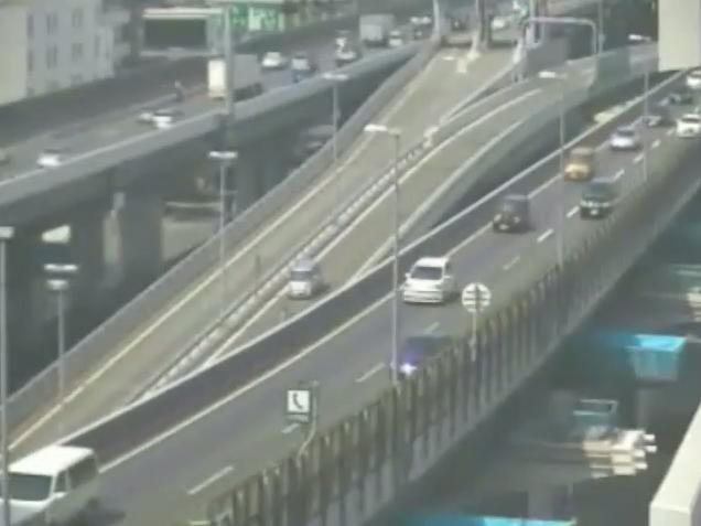 阪神高速3号神戸線阿波座付近ライブカメラ