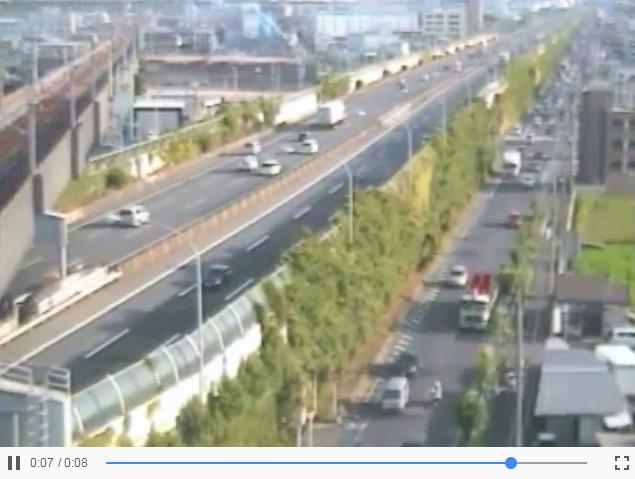 名神高速桂川パーキングエリアライブカメラ(京都府京都市南区)