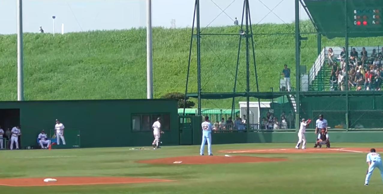 戸田球場東京ヤクルトスワローズ主催イースタンリーグ公式戦ライブカメラ