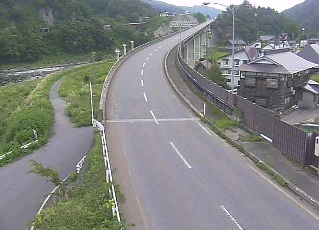 国道117号東大滝ライブカメラは、長野県野沢温泉村の東大滝に設置された国道117号が見えるライブカメラです。