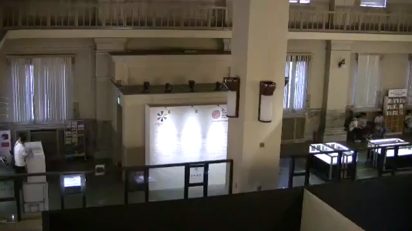 文化庁メディア芸術祭広島展ライブカメラ(広島県広島市中区)