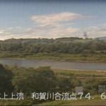 北上川和賀川合流点ライブカメラ(岩手県北上市川岸)