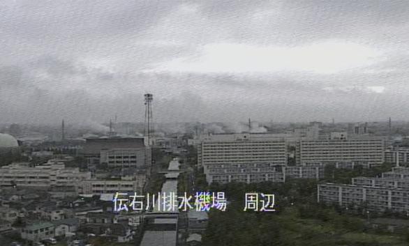 綾瀬川伝右川排水機場ライブカメラは、東京都足立区花畑の伝右川排水機場に設置された伝右川・綾瀬川が見えるライブカメラです。