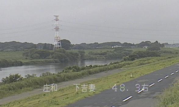 江戸川下吉妻ライブカメラは、埼玉県春日部市下吉妻の下吉妻に設置された江戸川が見えるライブカメラです。
