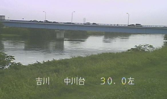 中川中川台ライブカメラは、埼玉県吉川市中川台の中川台に設置された中川が見えるライブカメラです。