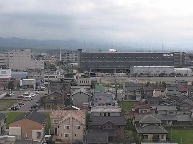 小松市役所第2ライブカメラは、石川県小松市小馬出町の小松市役所に設置された小松市内が見えるライブカメラです。