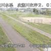 広瀬川中河原排水樋管ライブカメラ(宮城県仙台市若林区)