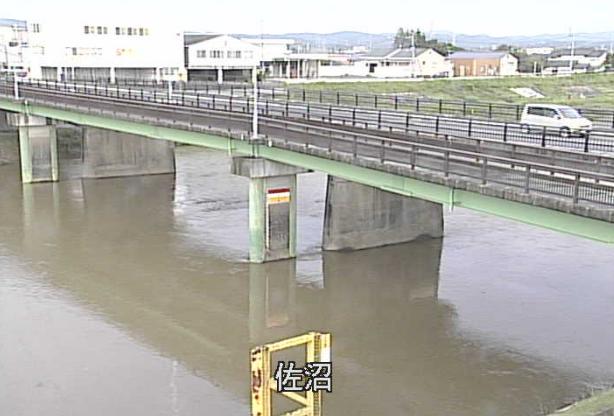 迫川佐沼ライブカメラは、宮城県登米市迫町佐沼の佐沼に設置された迫川が見えるライブカメラです。