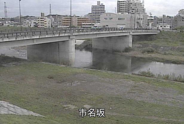 七北田川市名坂ライブカメラは、宮城県仙台市泉区の市名坂に設置された七北田川が見えるライブカメラです。