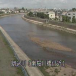 駒込川南桜川橋ライブカメラ(青森県青森市桜川)