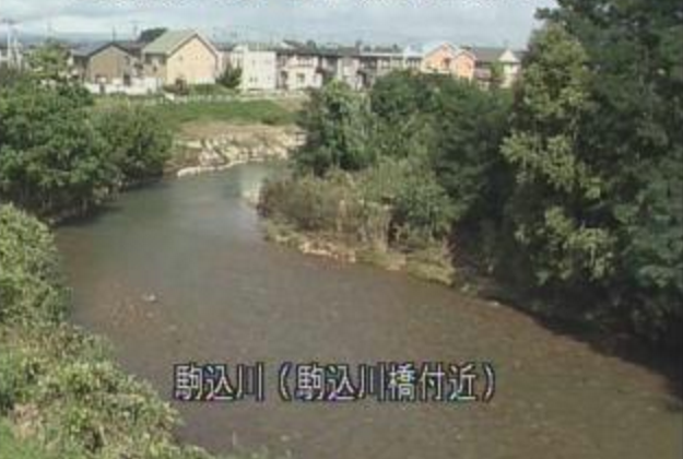 駒込川駒込川橋付近ライブカメラは、青森県青森市筒井の駒込川橋付近に設置された駒込川が見えるライブカメラです。