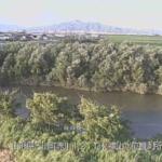 赤川横山水位観測所ライブカメラ(山形県三川町横山)