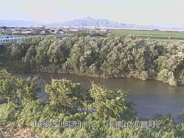 赤川横山水位観測所ライブカメラは、山形県三川町横山の横山水位観測所に設置された赤川が見えるライブカメラです。