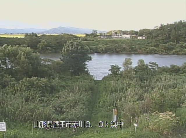 赤川浜中ライブカメラは、山形県酒田市の浜中に設置された赤川が見えるライブカメラです。