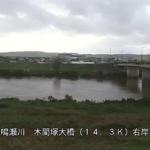 鳴瀬川木間塚大橋ライブカメラ(宮城県大崎市鹿島台)